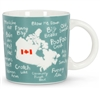 Canadiana Funny Names Mug