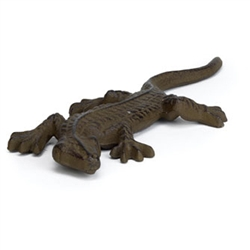 Cast Iron Lizard Figurine - Home Decor & Farmhouse Accessories