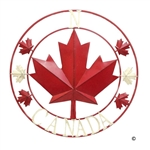 Canada Metal Wall Art - Small