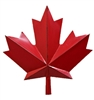 Garden & Outdoor Living Decor - Canada Maple Leaf 19""