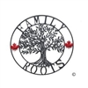 Metal Tree of Life Family Roots Wall Art - 28""
