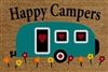 Happy Campers Door Mat