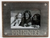"Metal Photo Frame - ""Friends"""
