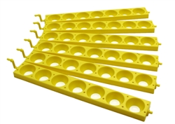 Poultry Farm Equipment - Automatic turner- set of 6 chicken racks