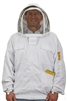Beekeeping Supplies & Equipment - Deluxe Beekeeping Jacket (Large)