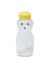 Beekeeping Supplies & Equipment - 12 Ounce Plastic Bear Bottle