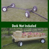 Garden Tools & Hardware- Wagon-4-Wheel Steer