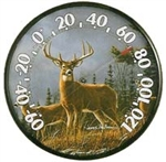 Outdoor Weather Guage - Thermometer-Deer