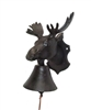 Bell -  Cast Iron Moose Bell