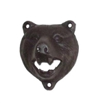 Cast Iron Bottle Opener - Bear