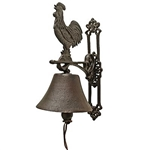 Cast Iron Rooster Doorbell