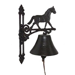Cast Iron Doorbell - Horse