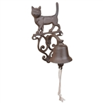 Cast Iron Doorbell - Cat