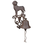 Cast Iron Doorbell - Dog