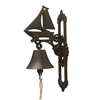 Bell -  Cast Iron Sailboat Bell