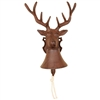 Bell -  Cast Iron Deer Bell