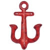 Vintage Anchor Hook - Red