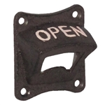 Cast Iron Bottle Opener - Square