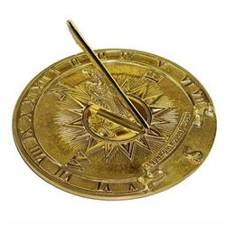 Garden & Outdoor Living Decor - Sundial - Nautical