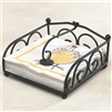 Wrought Iron Napkin Holder - Kitchen & Entertaining Tableware
