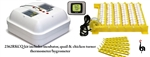 Incubator - TFan Hovabator with Quail/Chicken Turner & Thermo/Hygro
