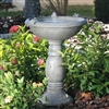 Birdbath Solar Country Garden - Birdbaths & Heaters