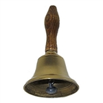 Farm & Self-Sufficiency Bells - Bell Brass Hand Bell (2 5/8 inch)