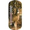 "Outdoor Weather Guage - Deer 8"" Thermometer"