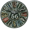 Route 66 Indoor/Outdoor Clock - 22 inch