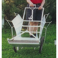 Garden Tools & Hardware - Blueberry Cart / Rake