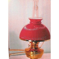 Emergency Lighting Supplies - Aladdin Lamp, Brass wall (red)