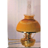 Emergency Lighting Supplies - Aladdin Lamp, Brass wall (amber)
