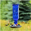 Hummingbird Feeder- 16oz Antique - Cobalt Blue