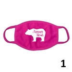 Adult Reusable Statement Facemasks - Pink