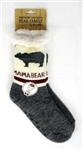 Mama Bear Socks with ABS sole