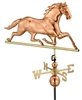 Horse Weathervane - Copper Ornamental Wind Instrument