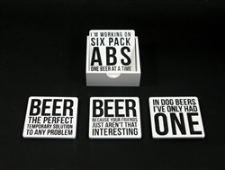 Beer Coasters - Set of 4