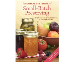 Garden & Building How-To Books: The Complete Book of Small Batch Preserving