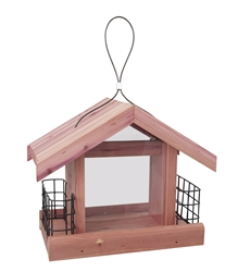 Cedar Chalet Bird Feeder - Bird & Squirrel Feeders
