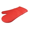 Silicone Oven Mitt - Red