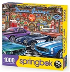 Springbok Puzzle - Dream Garage - 1000 piece