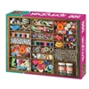 Springbok Puzzle - The Sewing Box - 500 piece