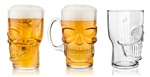 Brain Freeze Skull Beer Mug