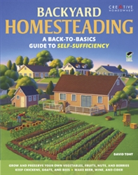 Country Living How-To Books: Backyard Homesteading