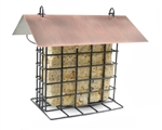 Suet Holder W/ Copper Roof - Bird & Squirrel Feeders