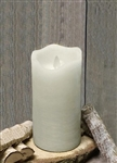 Ivory Real Wax Flameless LED Candle - 3X7""