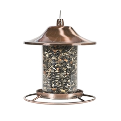 Copper Panorama Bird Feeder - Bird Feeder & Pet Care Supplies