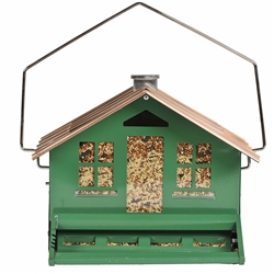 Squirrel Be Gone II Green Home Style Bird Feeder - 8 lb
