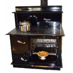 Pioneer Princess Wood Cookstove w/Shelf