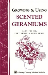 Garden Bulletins by Storey: Growing & Using Scented Geraniums